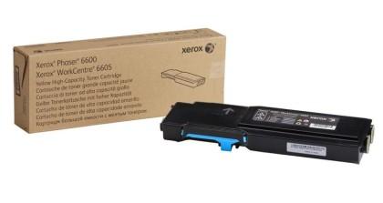 Originální toner XEROX 106R02233 (Azurový)