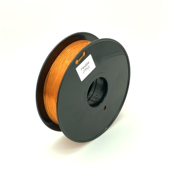 Tisková struna TPU Flexible pro 3D tiskárny, 1,75mm, 0,8kg, oranžová (průhledná)