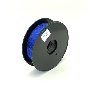 Tisková struna TPU Flexible pro 3D tiskárny, 1,75mm, 0,8kg, modrá (průhledná)