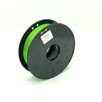 Tisková struna TPU Flexible pro 3D tiskárny, 1,75mm, 0,8kg, zelená (průhledná)