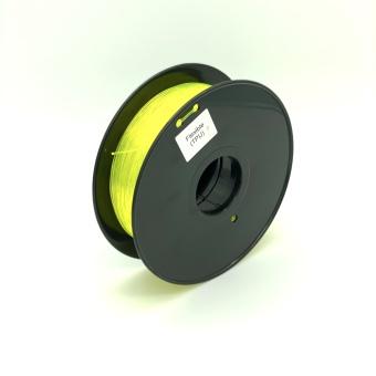 Tisková struna TPU Flexible pro 3D tiskárny, 1,75mm, 0,8kg, žlutá (průhledná)