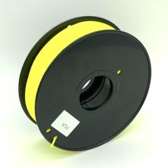 Tisková struna PLA pro 3D tiskárny, 3mm, 1kg, žlutá