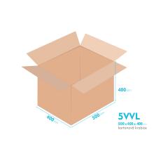 Kartonové krabice 5VVL - 500x400x400mm - vnitřní 494x394x388mm