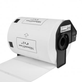 Kompatibilní etikety s Brother DK-11240, papírové štítky, 102 x 51mm, 600ks
