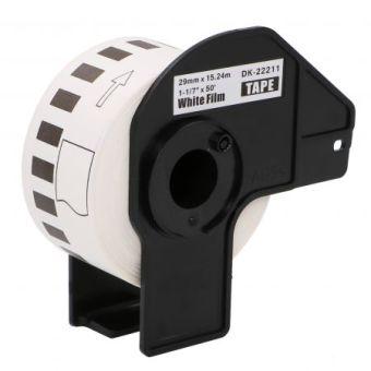 Kompatibilní etikety s Brother DK-22211, filmová role, 29mm x 15,24m