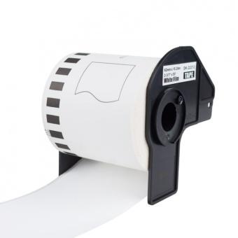 Kompatibilní etikety s Brother DK-22212, filmová role, 62mm x 15,24m
