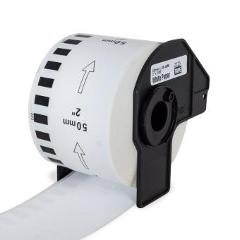 Kompatibilní etikety s Brother DK-22223, papírová role 50mm x 30,48m