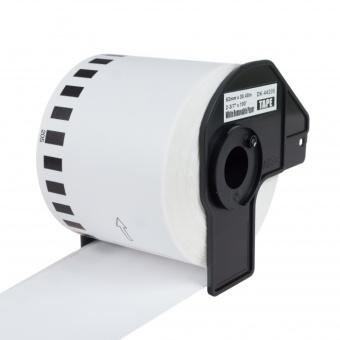 Kompatibilní etikety s Brother DK-44205, papírová role s odstranitelným lepidlem, 62mm x 30,48m