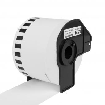 Kompatibilní etikety s Brother DK-N55224, papírová role, nelepící,  54mm x 30,48m