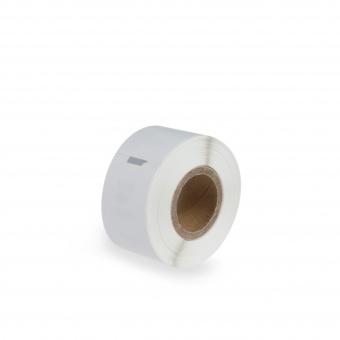 Kompatibilní etikety s DYMO 99010 (S0722370), 89mm x 28mm, černý tisk na bílém podkladu, 130ks