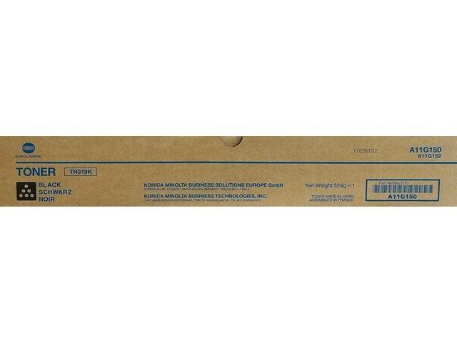 Originální toner Minolta TN-319K (A11G150) (Černý)