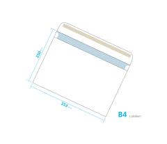 Dopisní obálka - B4 s páskem