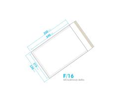Bílá bublinková obálka F/16 vnitřní rozměr 215x340 mm