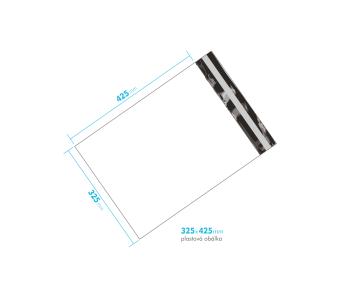 Plastová obálka 325x425mm