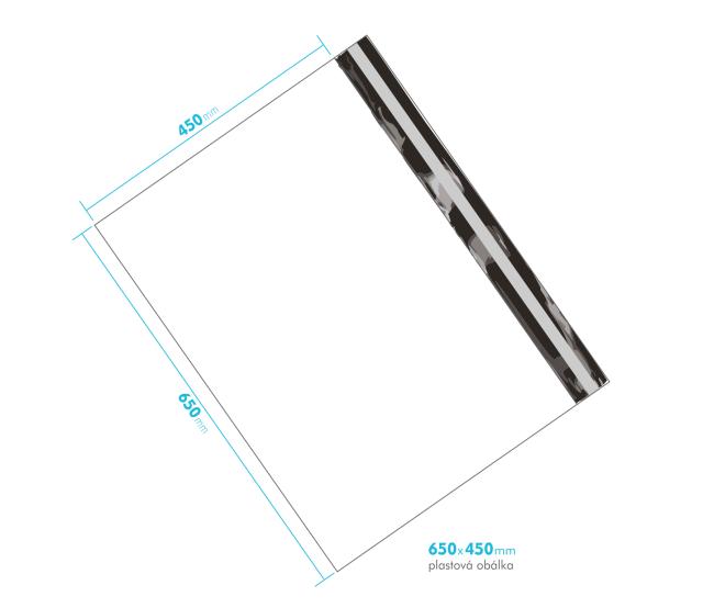 Plastová obálka 650x450mm