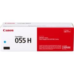 Toner do tiskárny Originální toner CANON CRG-055HC (Azurový)