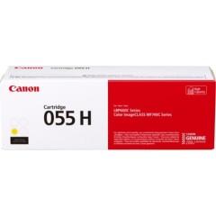 Toner do tiskárny Originální toner CANON CRG-055HY (Žlutý)