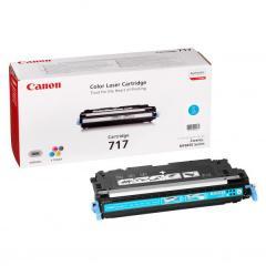 Toner do tiskárny Originální toner CANON CRG-717 C (Azurový)