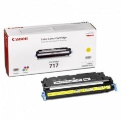 Toner do tiskárny Originální toner CANON CRG-717 Y (Žlutý)
