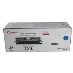 Toner do tiskárny Originální toner CANON EP-701L C (Azurový)