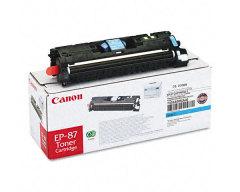 Toner do tiskárny Originální toner CANON EP-87 C (Azurový)