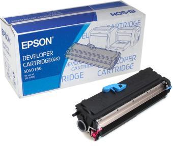Originální toner EPSON C13S050166 (Černý)