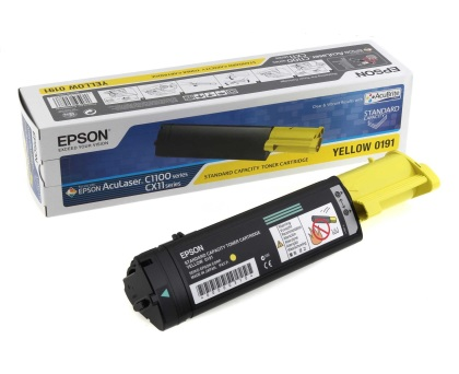 Originální toner EPSON C13S050191 (Žlutý)