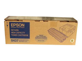 Originální toner EPSON C13S050437 (Černý)
