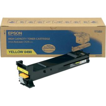 Originální toner EPSON C13S050490 (Žlutý)