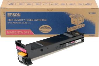 Originální toner EPSON C13S050491 (Purpurový)