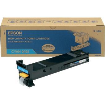 Originální toner EPSON C13S050492 (Azurový)