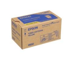 Toner do tiskárny Originální toner EPSON C13S050602 (Žlutý)