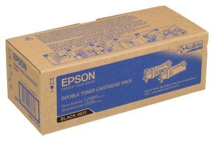 Originální toner EPSON C13S050631 (Černý) multipack