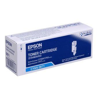 Originální toner EPSON C13S050671 (Azurový)