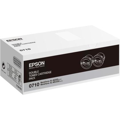 Originální toner EPSON C13S050710 (Černý) multipack