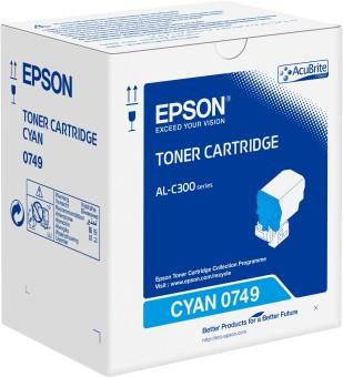 Originální toner EPSON C13S050749 (Azurový)