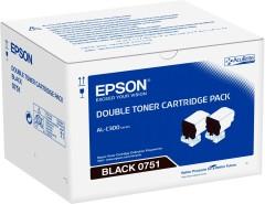 Originální toner EPSON C13S050751 (Černý) multipack