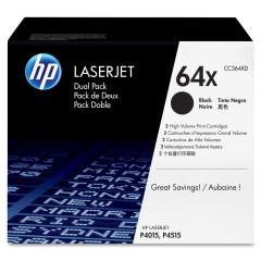Originální toner HP 64X, HP CC364XD (Černý) multipack