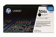 Toner do tiskárny Originální toner HP 504A, HP CE250A (Černý)