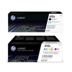 Originální tonery HP 410X, HP CF252XM (Černý a barevné) multipack