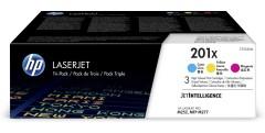 Originální tonery HP 201X, HP CF253XM (Barevné) multipack
