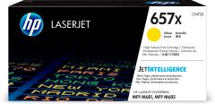 Toner do tiskárny Originální toner HP 657X, HP CF472X (Žlutý)