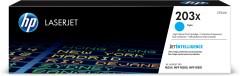 Toner do tiskárny Originální toner HP 203X, HP CF541X (Azurový)