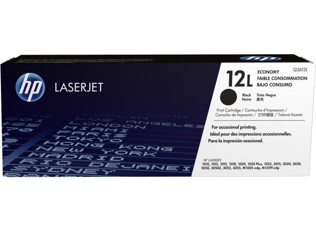 Originální toner HP 12L, HP Q2612L (Černý)