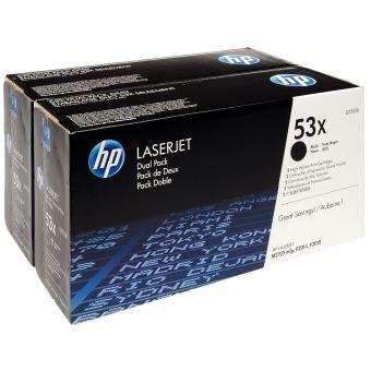 Originální toner HP 53X, HP Q7553XD (Černý) multipack