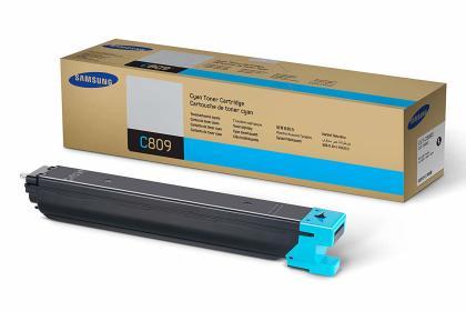 Originální toner Samsung CLT-C809S (Azurový)