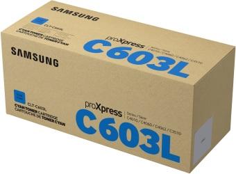 Originální toner Samsung CLT-C603L (Azurový)