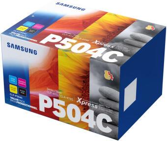 Originální tonery Samsung CLT-P504C (Černý + barevné) multipack