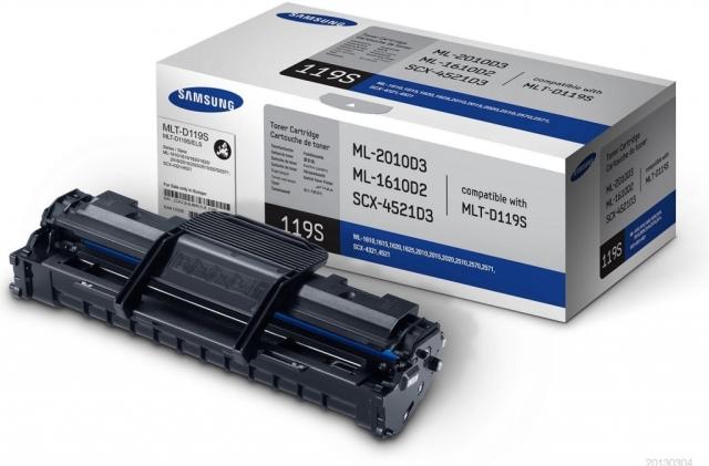 Originální toner Samsung MLT-D119S (Černý)