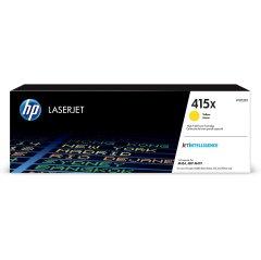 Toner do tiskárny Originální toner HP 415X, HP W2032X (Žlutý)